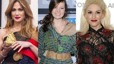 Jennifer Lopez, Anna Powierza, Gwen Stefani.