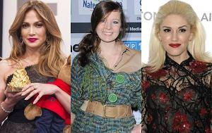 Jennifer Lopez, Anna Powierza, Gwen Stefani, operacje plastyczne gwiazd, operacje nosa gwiazd
