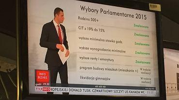 Podsumowanie roku od wyboru PiS w TVP Info