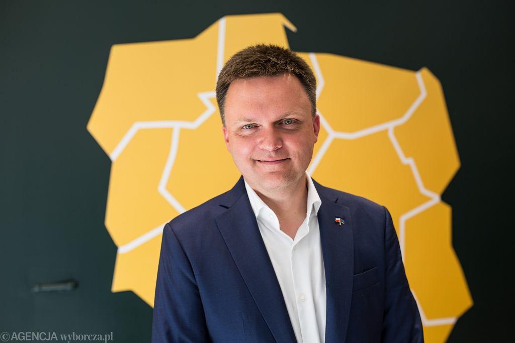 Szymon Hołownia. Warszawa, 30 czerwca 2020