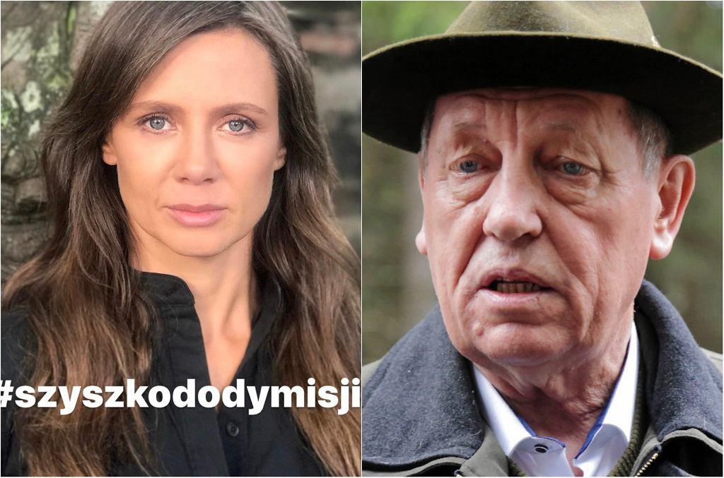 Kinga Rusin, Jan Szyszko