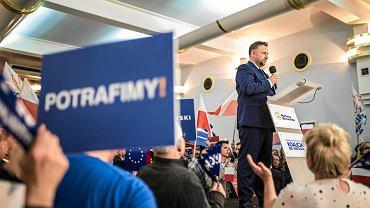 Marcin Kierwiński (PO) na konwencji Platformy Obywatelskiej