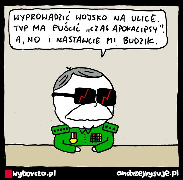 Andrzej Rysuje   GENERAŁ - Andrzej Rysuje, 18.06.2021 -