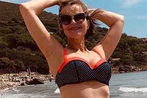 Monika Zamachowska w bikini