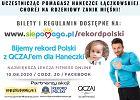 Trenuj w dobrej sprawie! Już 10 sierpnia największa polska lekcja fitness online. Pobijmy razem rekord