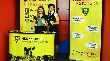 Stoisko GKS-u Katowice podczas EKG