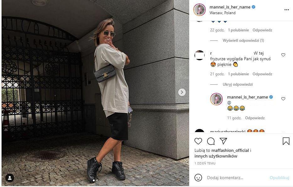 Komentarze na Instagramie Sary Boruc