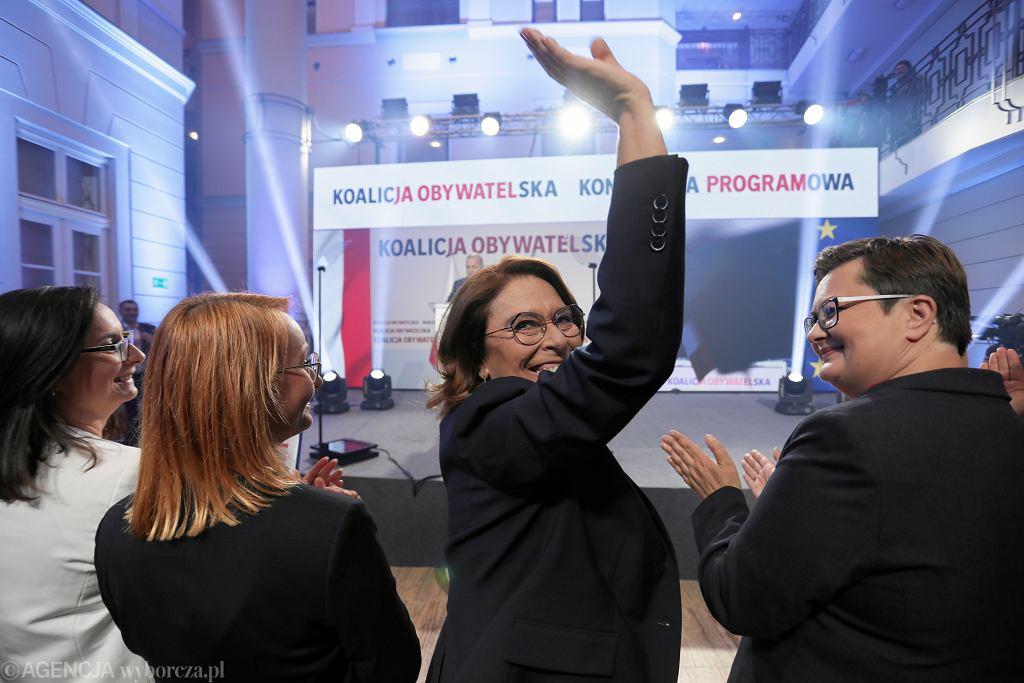 Konwencja Programowa Koalicji Obywatelskiej. Warszawa, 6 września 2019