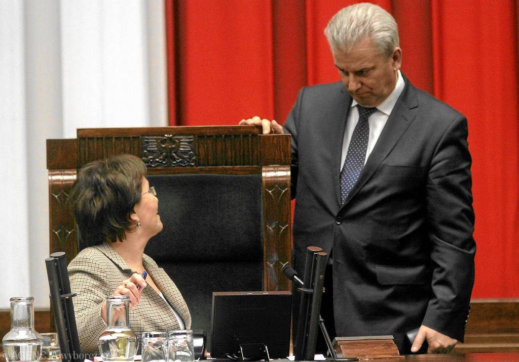 Cezary Grabarczyk może zastąpić na fotelu marszałka Sejmu Ewę Kopacz
