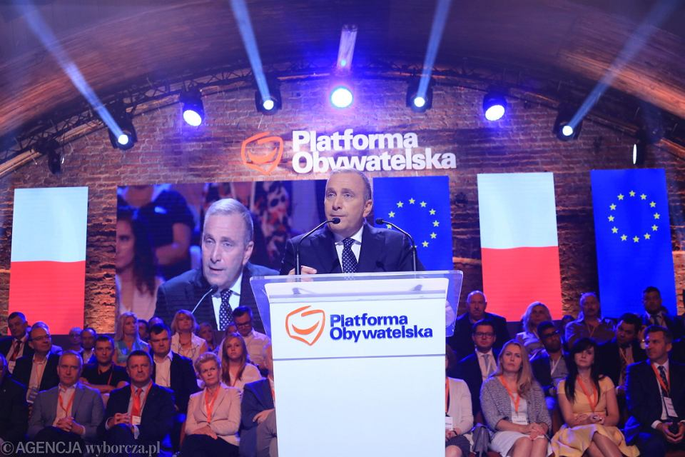 01.07.2017, Warszawa. Rada Krajowa Platformy Obywatelskiej
