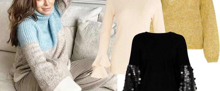 Gwiazdy pokochały swetry z rękawami XXL. Mamy dla was modele, obok których nie przejdziecie obojętnie