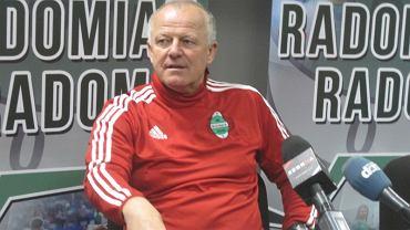 Werner Liczka - trener Radomiaka