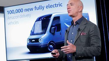 Jeff Bezos obiecuje walkę o poprawę klimatu