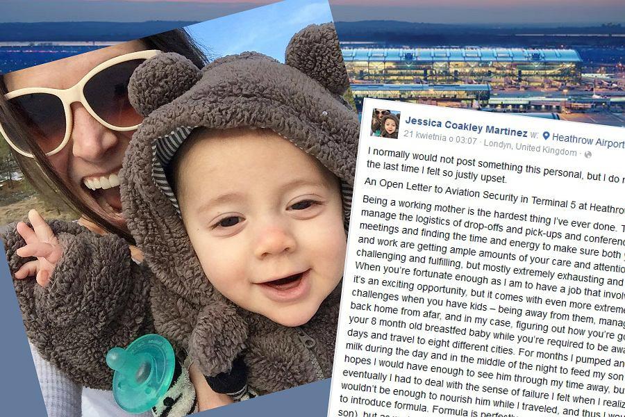 List otwarty matki, której nie pozwolono wnieść pokarmu na pokład samolotu, wywołała burzę w internecie