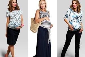 Modne ubrania dla kobiet w ostatnim miesiącu ciąży