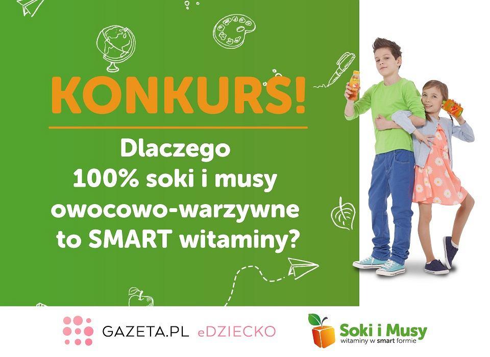 Konkurs: 'Soki i musy - witaminy w SMART formie'