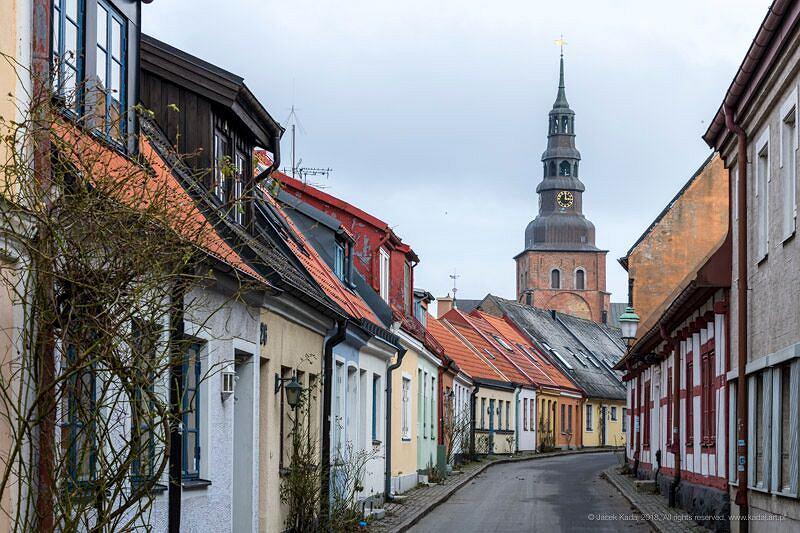 Malownicza zabudowa Ystad