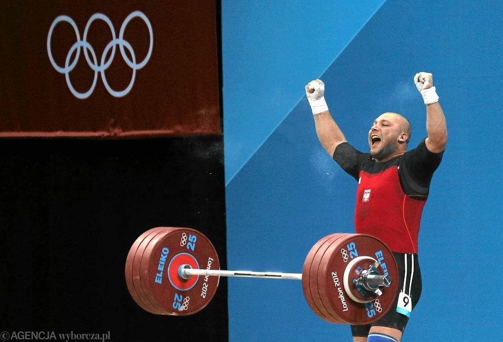 Bartłomiej Bonk na olimpijskim pomoście w Londynie