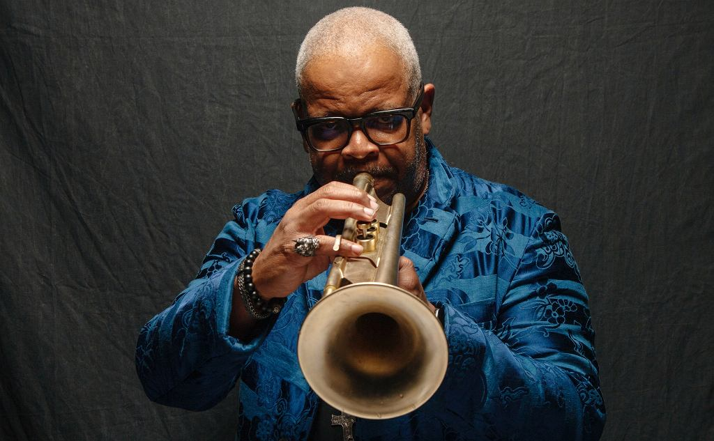 Portrait of musician Terence Blanchard at his home in New Orlean