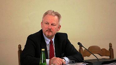 8.02.2017, Warszawa, Wojciech Kwaśniak podczas posiedzenia Sejmowej Komisji Śledczej ds. Zbadania afery Amber Gold.