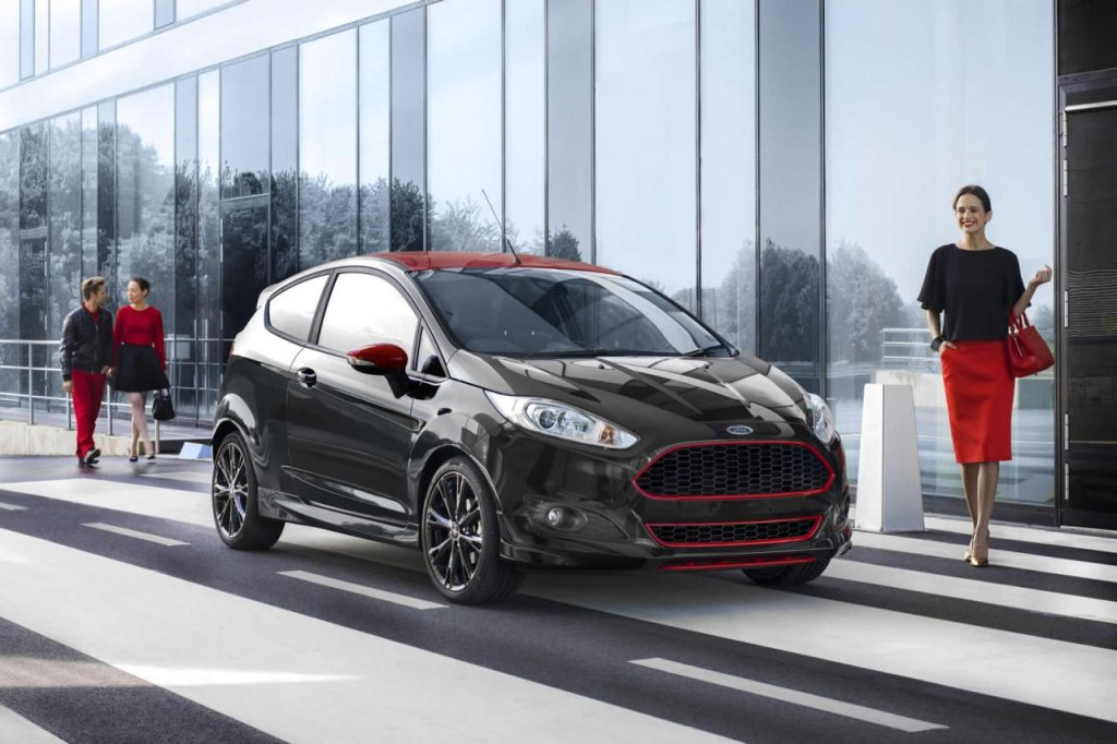 Ford Fiesta Black
