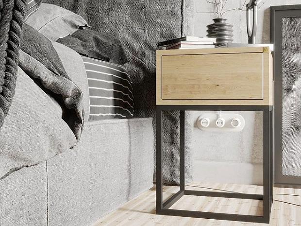 Małe szafki nocne do sypialni: funkcjonalny dodatek i piękna dekoracja! Spodoba ci się
