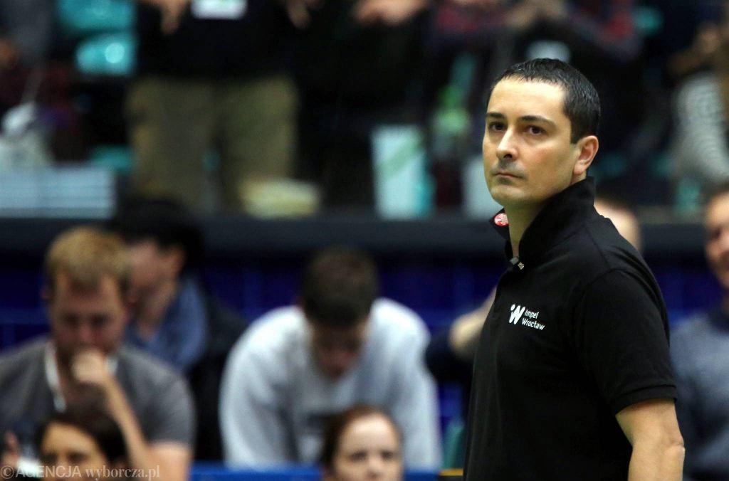 Nicola Negro nie jest już trenerem Impelu Wrocław