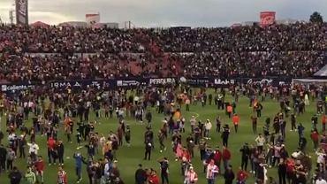 Zamieszki na trybunach podczas meczu meksykańskiej ekstraklasy