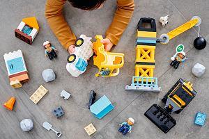 Plac budowy dla maluchów od LEGO DUPLO