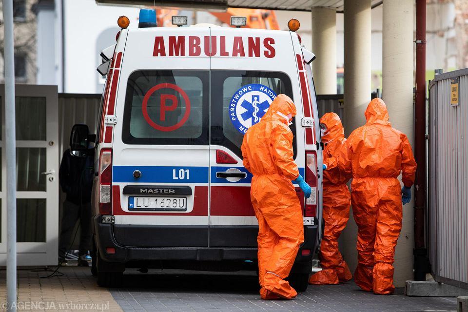 Szpital w czasie epidemii koronawirusa