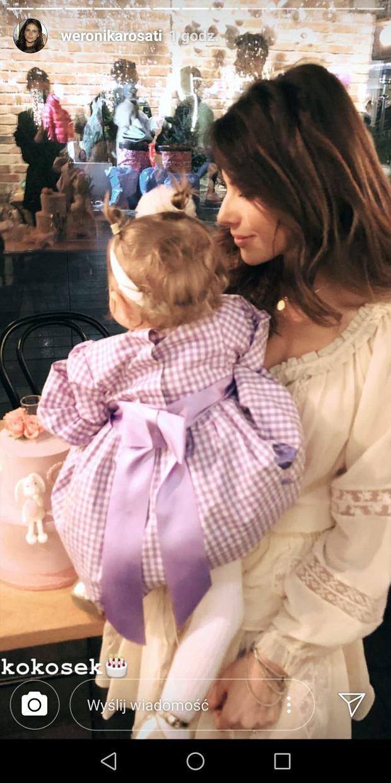 Zdjęcia z przyjęcia urodzinowego córki Weroniki Rosati