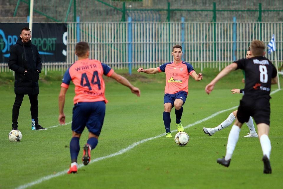 Zdjęcie numer 53 w galerii - Bez bramek w meczu piłkarzy Warty Gorzów, rozgrywanym przy pustych trybunach [ZDJĘCIA]