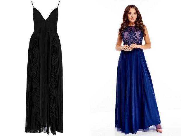 Długie sukienki, długie sukienki na sylwestra
