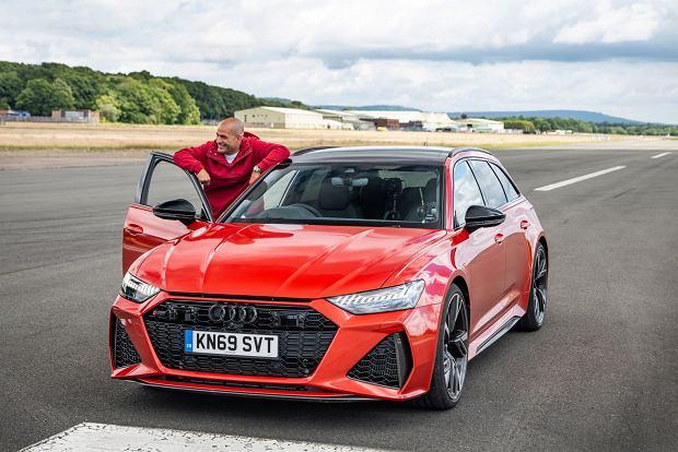 Chris Harris i Audi RS6