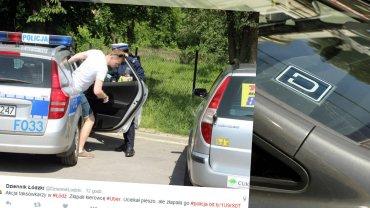 Kierowca Ubera zatrzymany w Łodzi