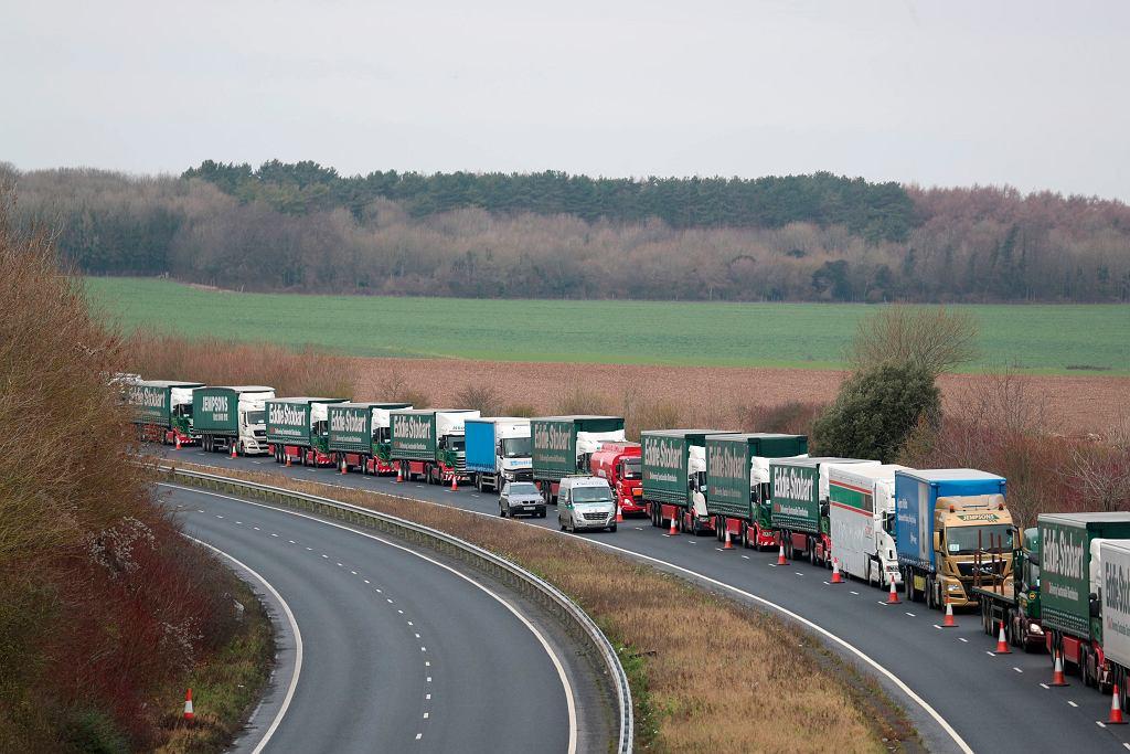 W okolicach portu w Dover w Wielkiej Brytanii zakończyły się ćwiczenia na wypadek twardego brexitu.
