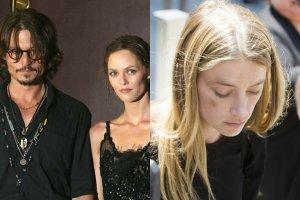 Johnny Depp, Vanessa Paradis, Amber Heard