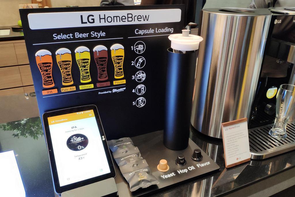 LG HomeBrew / CES 2019