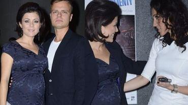 Kasia Cichopek pokazała się z mężem na wernisażu fotografii.