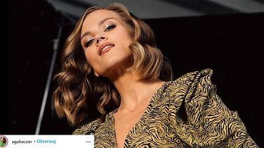 Agnieszka Kaczorowska pokazała zmysłowe zdjęcia topless. Fani zachwyceni