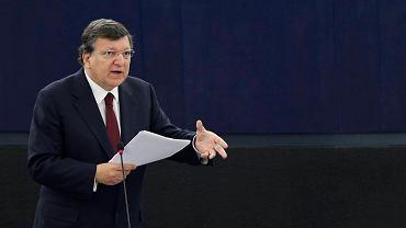 Przewodniczący Komisji Europejskiej José Manuel Barroso