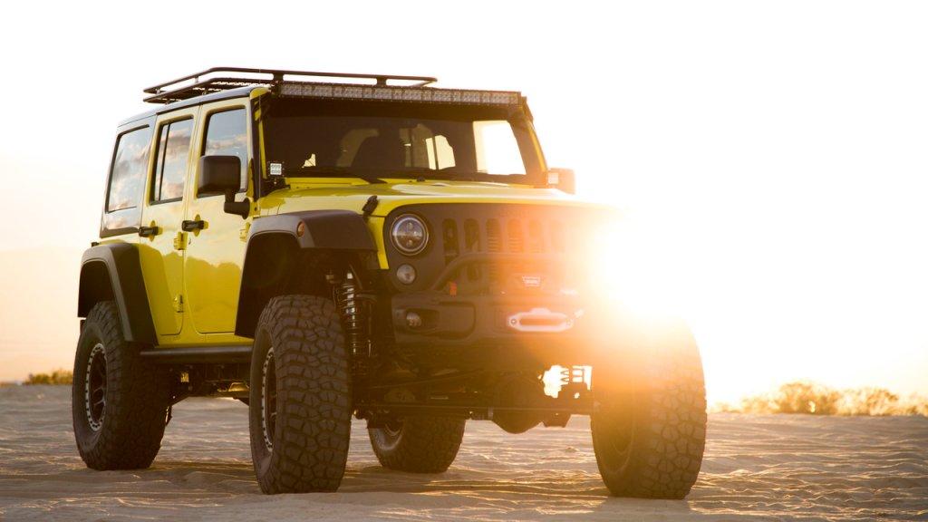 Pennzoil Joyride Jeep Wrangler