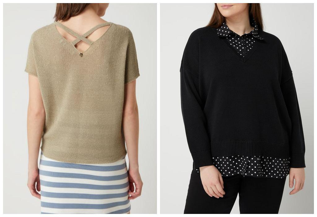 modne swetery