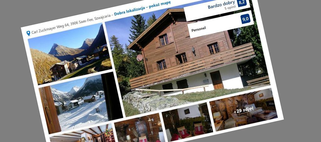 Chalet Schliechte w Szwajcarii
