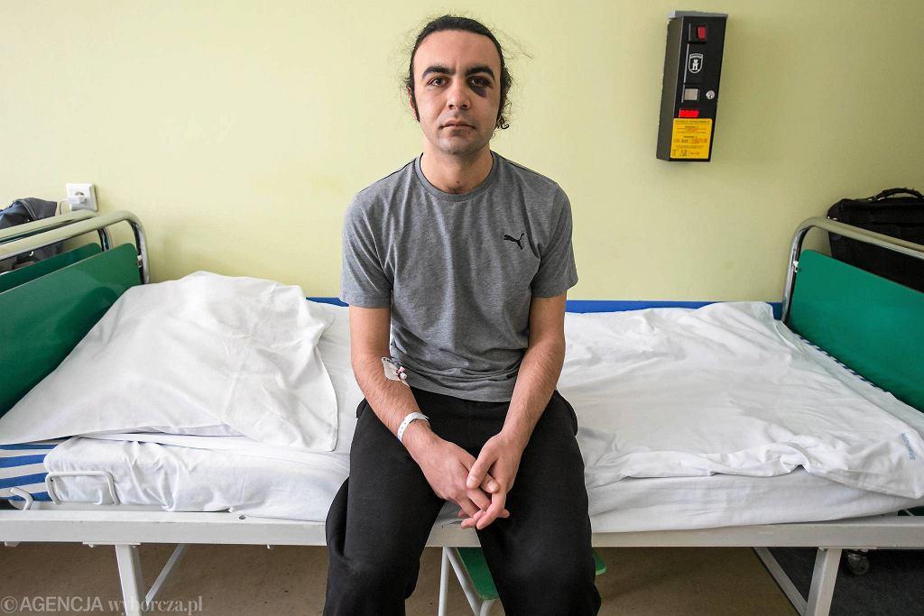 Lublin. Deniz w szpitalu