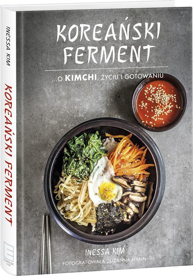 'Koreański ferment', książka kucharska Inessy Kim jest poświęcona w całości kuchni koreańskiej. W książce można znaleźć dziesiątki przepisów na koreańskie dania - zarówno mięsne jak i wegetariańskie.