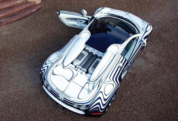 Bugatti Veyron Grand Sport Roadster LOr Blanc 2011