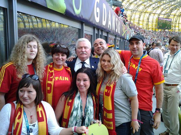 Zdjęcie numer 6 w galerii - Lech Wałęsa robi zdjęcia podczas meczów. Zobaczcie co udało mu się sfotografować...