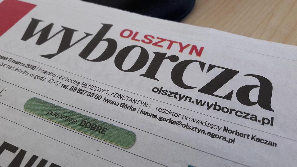 Winieta Wyborczej Olsztyn