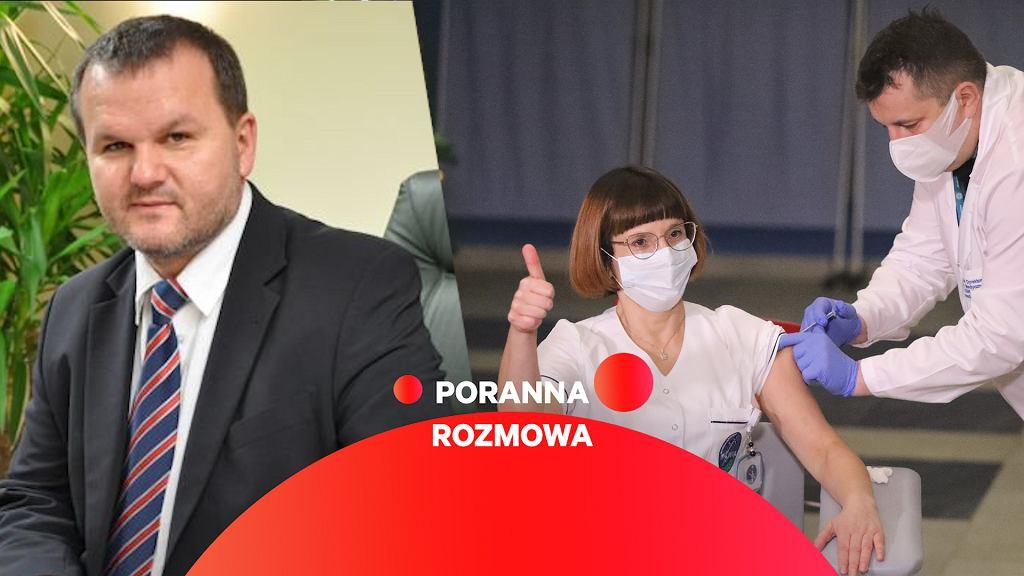 Marek Posobkiewicz w Porannej Rozmowie Gazeta.pl